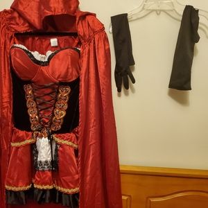🌺Womens Little Red Riding Hood Costume
